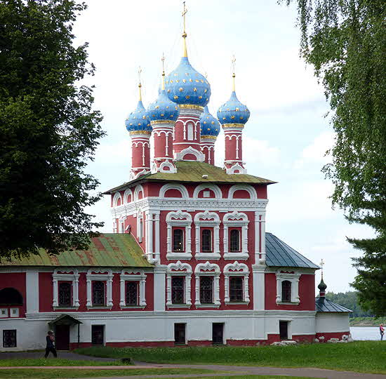 Russia Uglich Church of the Blood