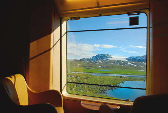 Norway in a Nutshell Begen-Oslo train