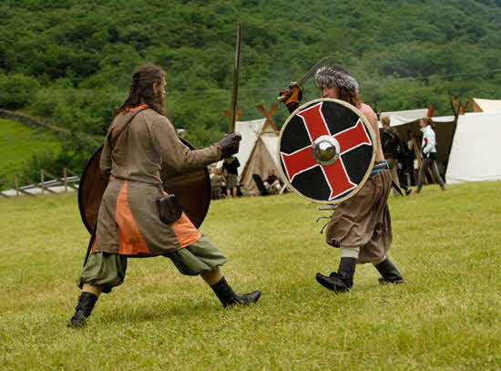 Norway on a Nutshell Swordsmanship in Viking Camp