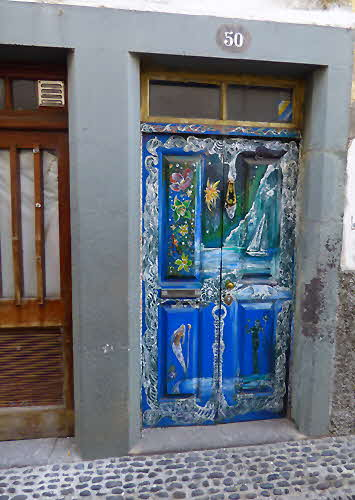 Madeira Painted Door
