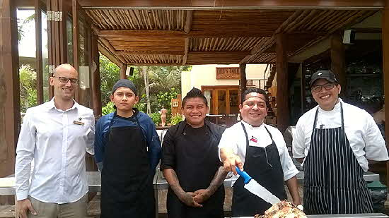 Tulum Hotels Culinary Team