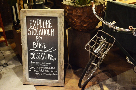 Camper Explore Stockholm by bike