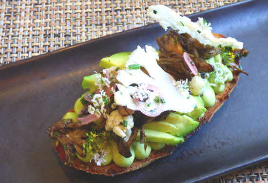 Jockey Hollow Bar & Kitchen Avocado Toast