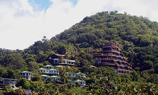 Anse Chastanet and Jade Mountain