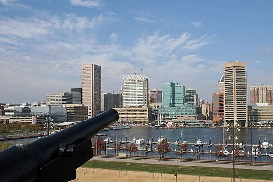 Baltimore from Federal Hill