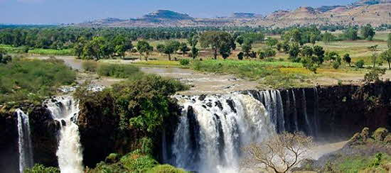 Blue Nile Falls known locally as Tis Isat