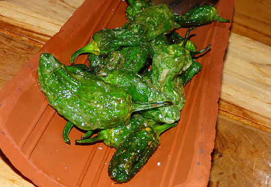 Boca Grande Fried Padron Peppers