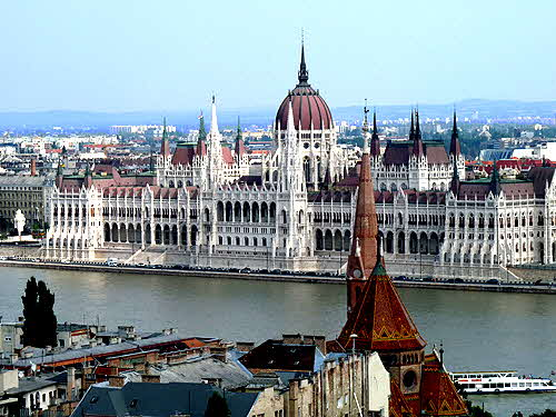 Budapest Parlament from Buda