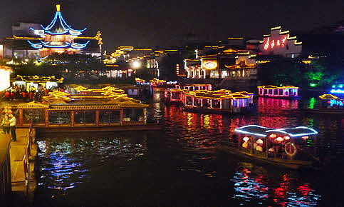 China Waterfront Night