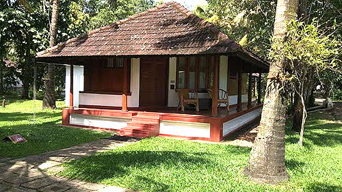 Coconut Lagoon Bungalows are fashioned after traditional local homes