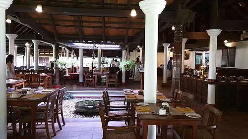 Coconut Lagoon Open-air dining room