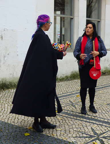 Coimbra University Student in Black Cape