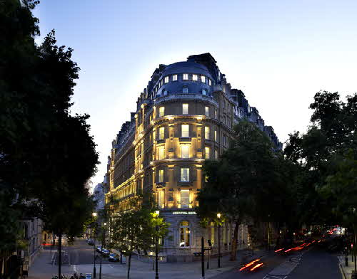 Corinthia London Exterior Night