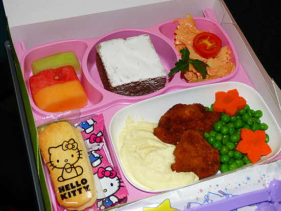EVA Hello Kitty Children's Menu