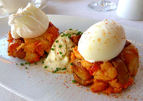 Equus Castle Hotel & Spa Lobster Hash