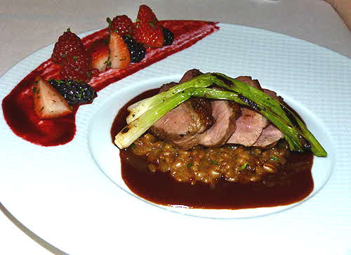 Equus Castle Hotel & Spa Long Island Duck Breast
