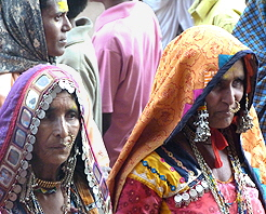 Faces of India Women at Full Moon Festival