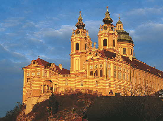 Melk Abbey sunset