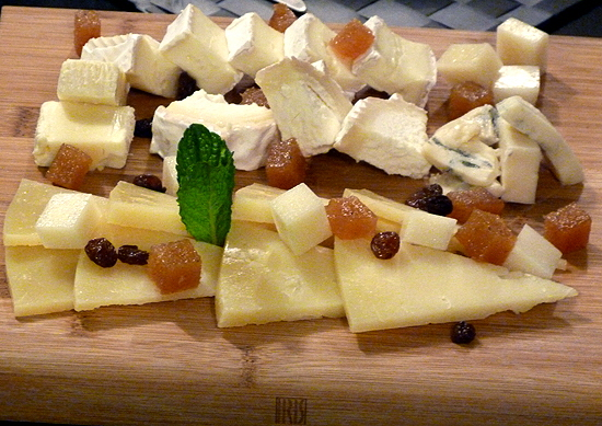 More Tapas Cheeses with membrillo and raisins