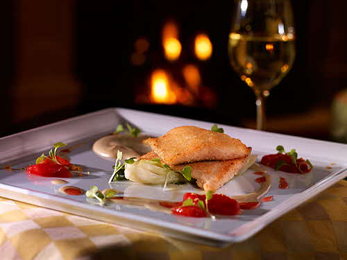 Old Edwards Inn Madisons_Restaurant_Almond_Crusted_Trout