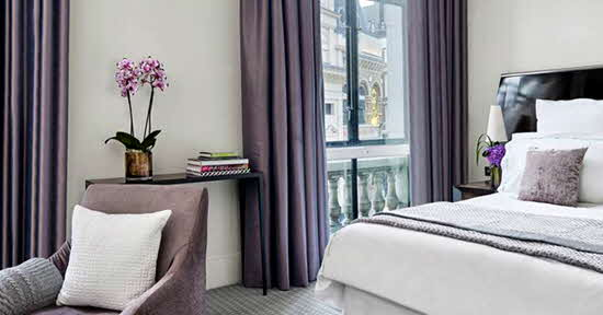 One Aldwych Bedroom
