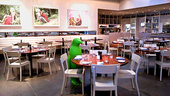 Penguin in the Hive Restaurant