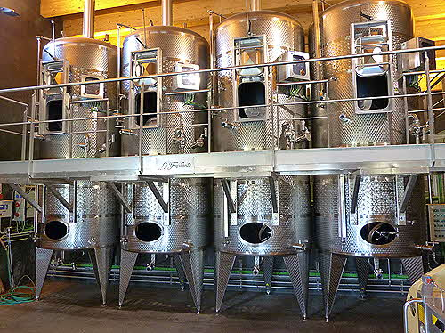 Prioral Torres Stainless Steel Fermenters