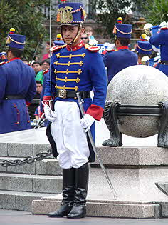 Quito Guard with Sword