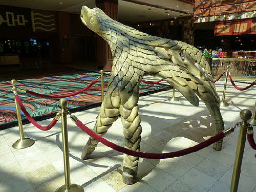 Seneca Niagara Casino & Hotel Eagle Sculpture