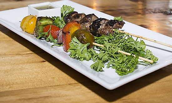 Sixty5onMain Lamb skewers