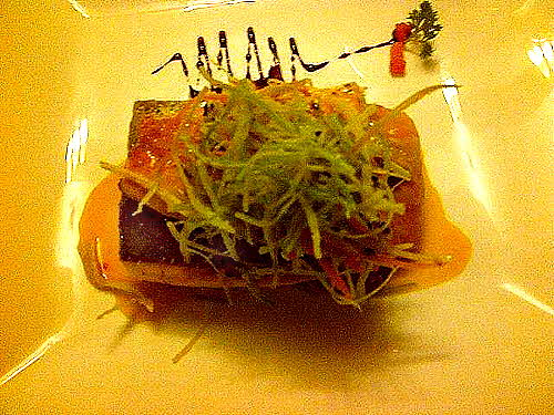 Sumaq Hotel Oven Baked Trout with flavors from the Mountain Gods[1]