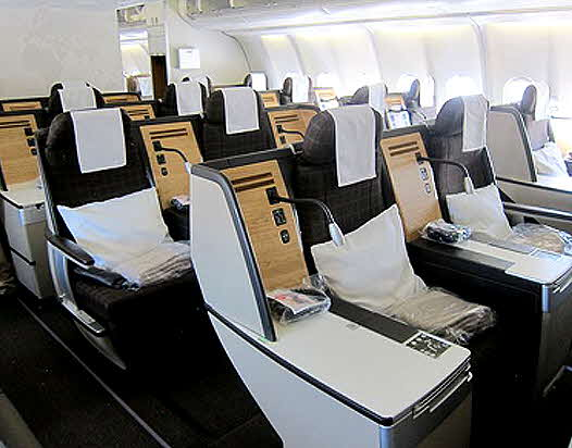 Swiss Airline Business Class