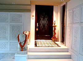 Taj Mumbai Presidential Suite Door