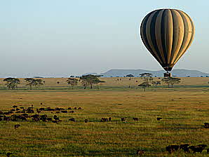 Tanzania Balloon and Animals
