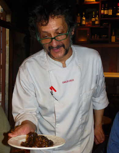Tapeo Chef Carlos Calle