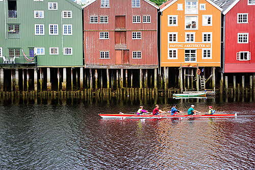 Trondheim Canoe on the Nidelva