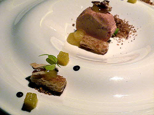 Turning Stone Wildflowers foie gras torchon