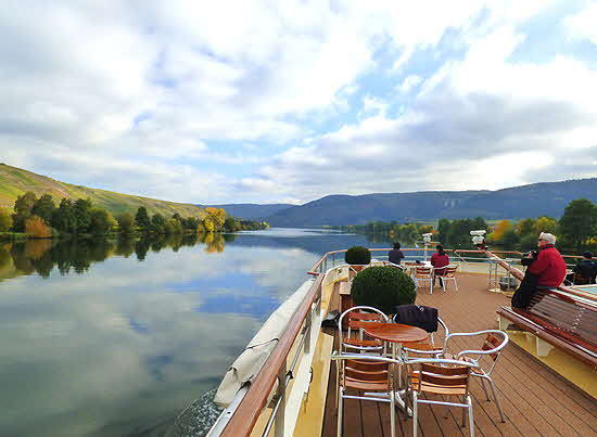 Uniworld River Queen View of Mosel