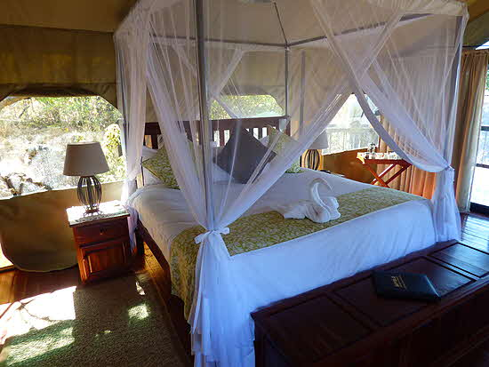 Zimbabwe 2016 Imvelo Safari Lodges Tent