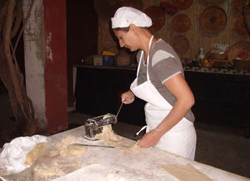 Making Hand-made Pasta in Sardinia_2
